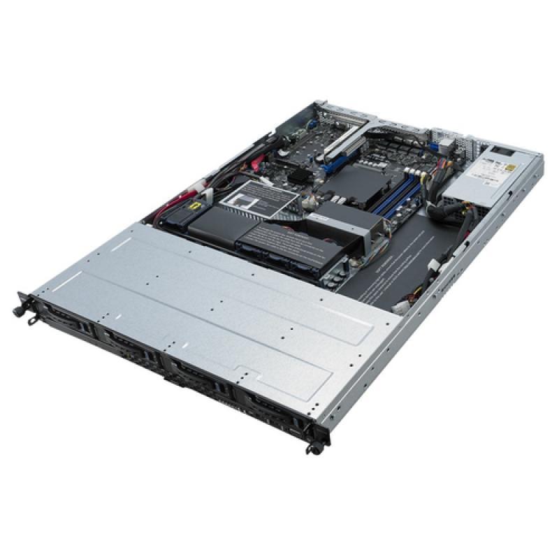 ASUS RS300-E10-PS4 Intel C242 LGA 1151 (Zócalo H4) Bastidor (1U) Negro, Metálico - Imagen 1