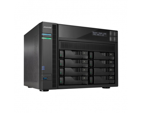 ASUS AS6208T. Supported storage drive types: HDD, SSD, Maximum supported storage capacity: 64 TB, Storage drive interface: Seria