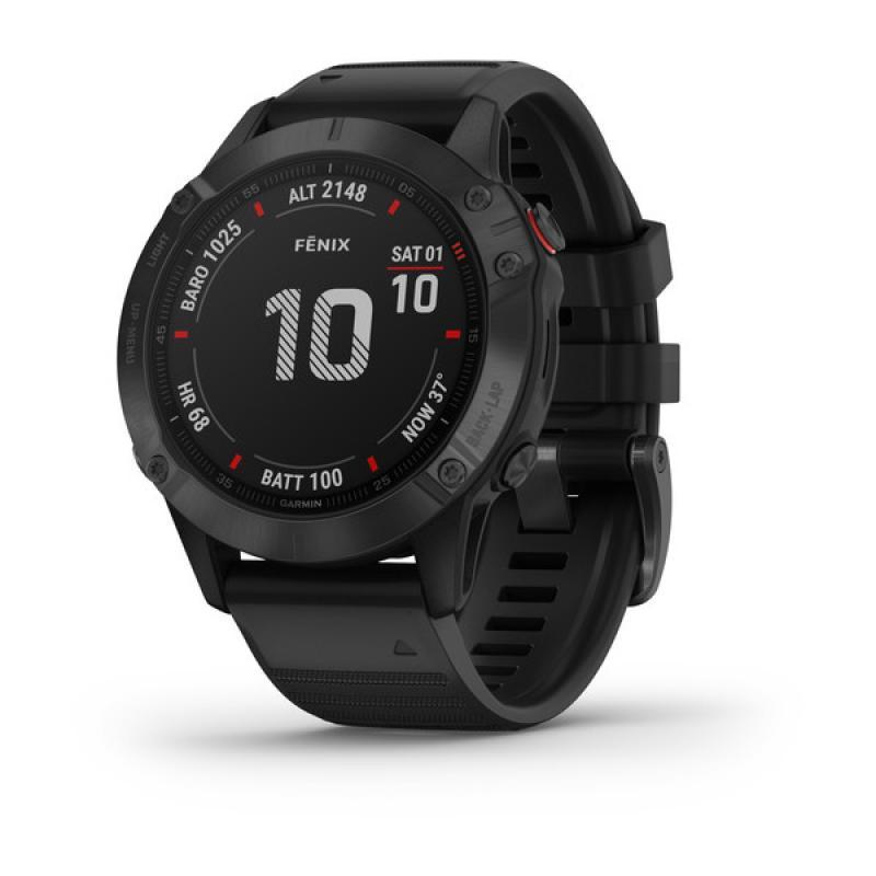"""fenix 6 Pro reloj inteligente Negro 3,3 cm (1.3"""") GPS (satélite) - Imagen 1"""