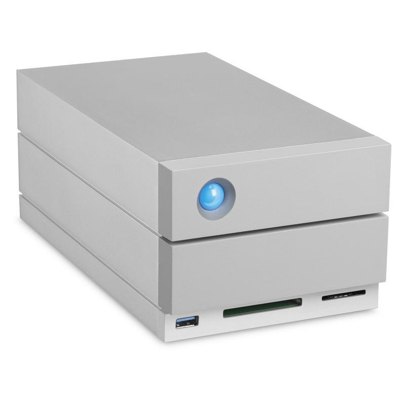 2big Dock Thunderbolt 3 unidad de disco multiple 20 TB Escritorio Gris - Imagen 1