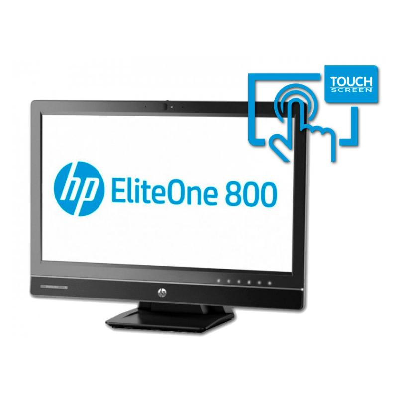 HP 800 G1 All in One 23'' Táctil Intel Core i7 4770S 3.1 GHz. · 16 Gb. SO-DDR3 RAM · 1.00 Tb. SATA · DVD-RW · COA Windows 8 Pro
