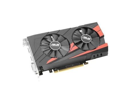 Tarjeta Gráfica Asus EX-GTX1050TI-4G - GeForce GTX 1050 Ti - 1,29 GHz Principal - 1,39 GHz Boost Clock - 4 GB GDDR5 - Dual Ranur