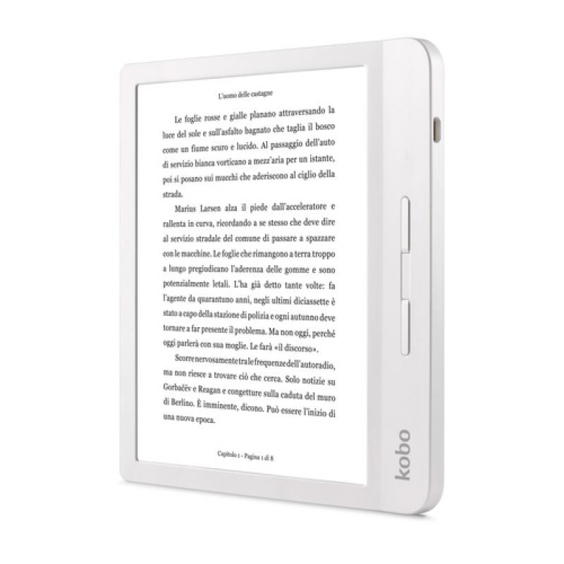 Rakuten Kobo Libra H2O lectore de e-book Pantalla táctil 8 GB Wifi Blanco - Imagen 1
