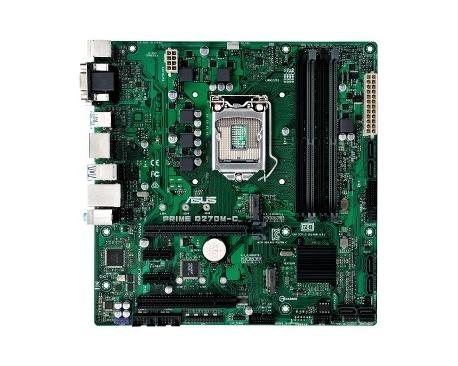 Placa Base de Ordenador de Escritorio Asus Prime Q270M-C/CSM - Intel Conjunto de Circuitos Integrados - Socket H4 LGA-1151 - Mic