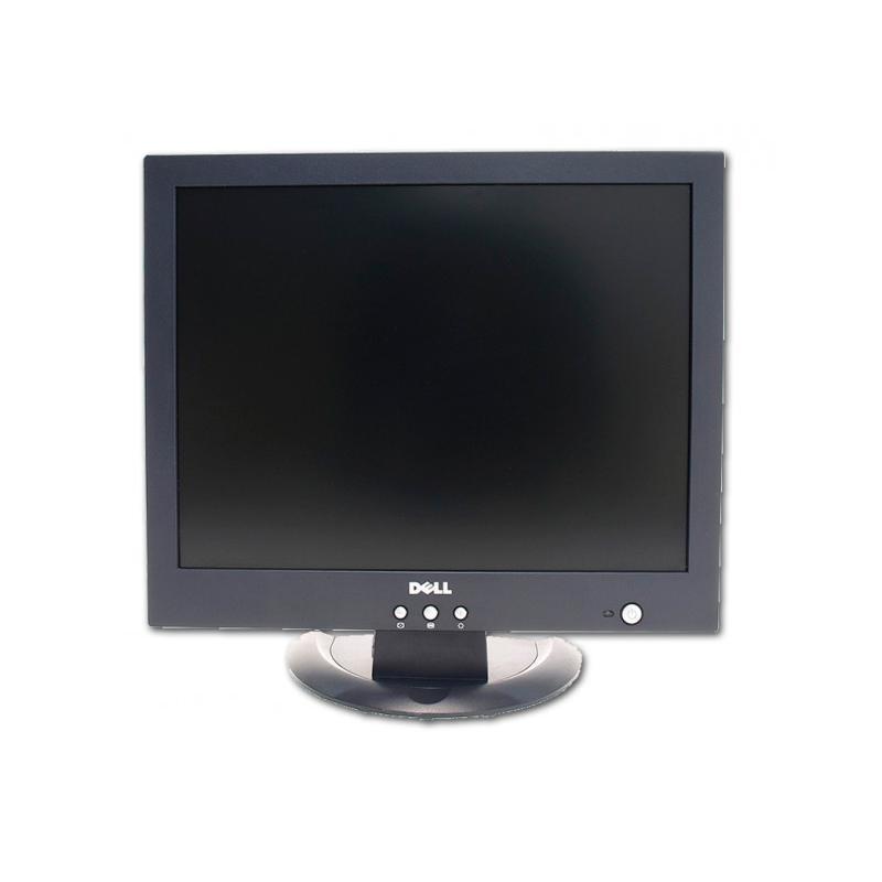 Dell 1504FP LCD 15 '' 4:3 · Resolución 1024x768 · Dot pitch 0.297 mm · Contraste 400:1 · Brillo 250 cd/m2 · Ángulo visión 80°v/