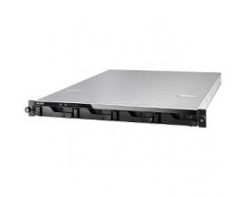 Sistema de almacenamiento SAN/NAS ASUSTOR AS6204RD - 1U - Montaje en bastidor - Intel Celeron Quad-core (4 Core) 1,60 GHz - 4 x