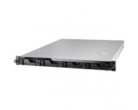 Sistema de almacenamiento SAN/NAS ASUSTOR AS6204RS - 1U - Montaje en bastidor - Intel Celeron Quad-core (4 Core) 1,60 GHz - 4 x