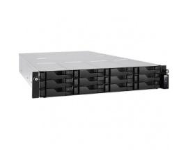 Sistema de almacenamiento SAN/NAS ASUSTOR AS6212RD - 2U - Montaje en bastidor - Intel Celeron Quad-core (4 Core) 1,60 GHz - 12 x