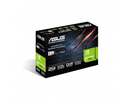 GF GT710-SL-2GD5-BRK 2GB GDDR5 954MHZ DVI HDMI DP IN - Imagen 1