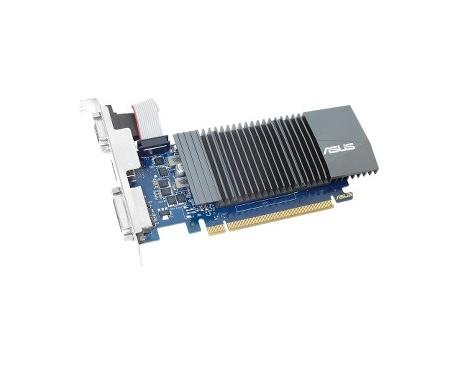 Tarjeta Gráfica Asus GT710-SL-1GD5-BRK - GeForce GT 710 - 954 MHz Principal - 1 GB GDDR5 - 32 bit Ancho de bus - Refrigerador pa