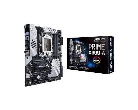 Placa Base de Ordenador de Escritorio Asus Prime X399-A - AMD Conjunto de Circuitos Integrados - Socket TR4 - ATX Extendido - 1