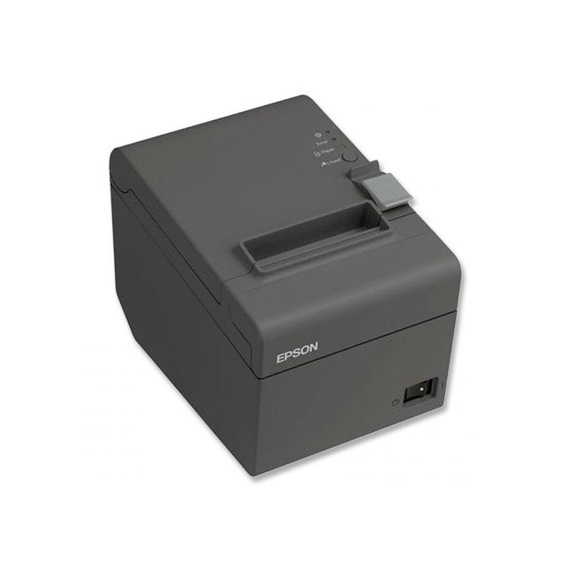 Epson TM-T20II Térmica · Ancho de papel 80mm · Corte automático · Velocidad de impresión 200 mm/s · Caracteres por pulgada 22,6