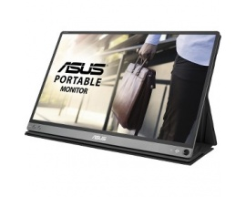 "ASUS MB16AC 15.6"" Full HD LED Brillo Plana Gris pantalla para PC"