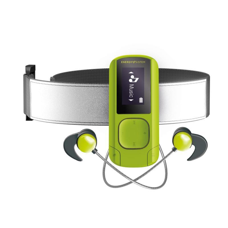 MP3 Clip BT Sport Greenstone Reproductor de MP3 Verde 16 GB - Imagen 1