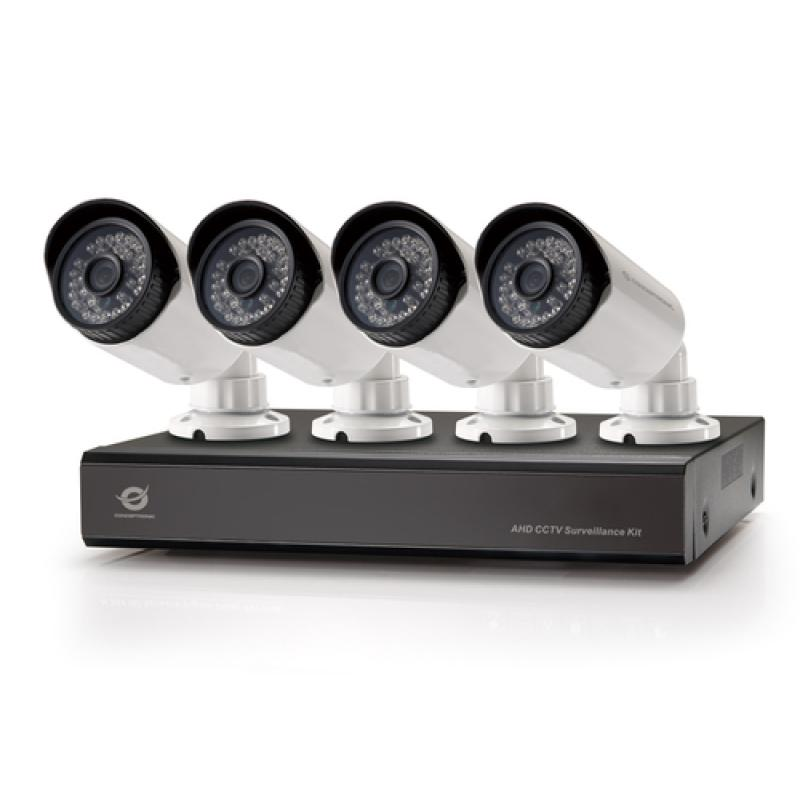 Conceptronic Kit de vigilancia AHD CCTV de 8 canales - Imagen 1