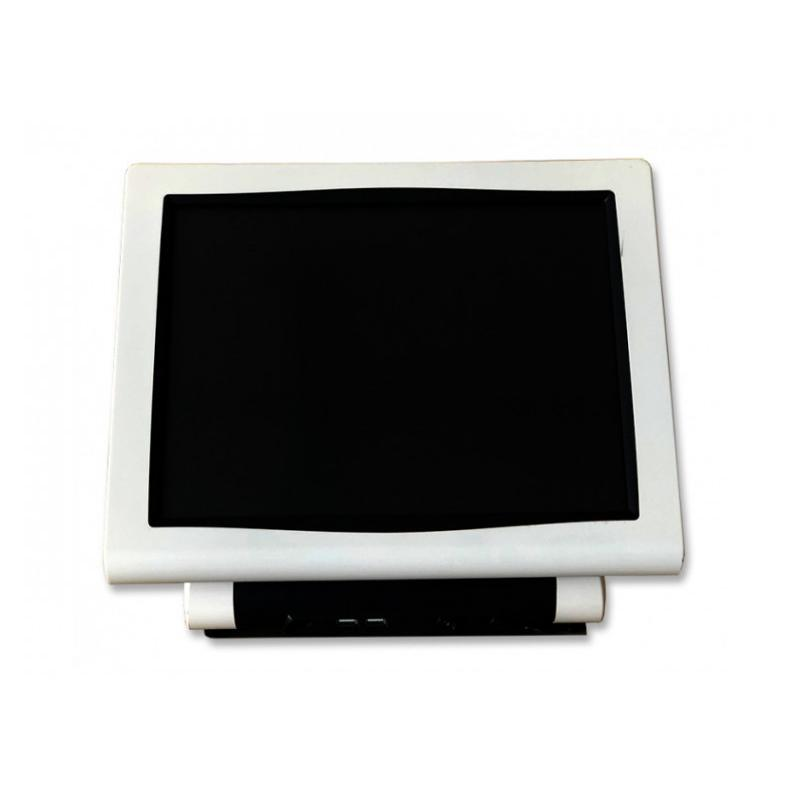 Clonico C-POS CM-5500 Intel Atom D525 1.8 GHz. · 4 Gb. SO-DDR3 RAM · 320 Gb. SATA · COA Windows 7 Pro · Táctil 15 '' 5:4 · Reso