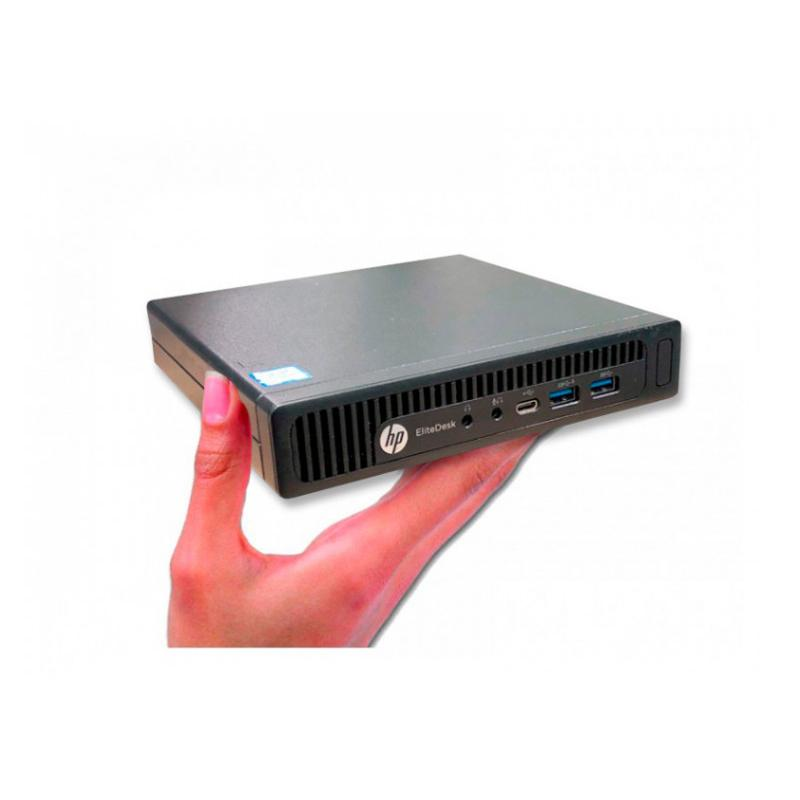 HP EliteDesk 800 G2 USDT Intel Core i5 6500 3.2 GHz. · 8 Gb. SO-DDR4 RAM · 256 Gb. SSD · COA Windows 8 Pro actualizado a Windows