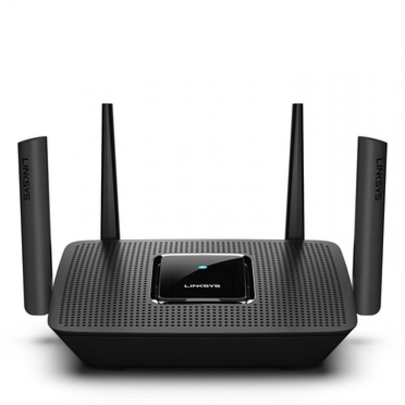 Linksys MR8300 router inalámbrico Tribanda (2,4 GHz/5 GHz/5 GHz) Gigabit Ethernet Negro - Imagen 1