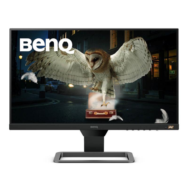 "EW2480 pantalla para PC 60,5 cm (23.8"") 1920 x 1080 Pixeles IPS Plana Negro, Gris - Imagen 1"