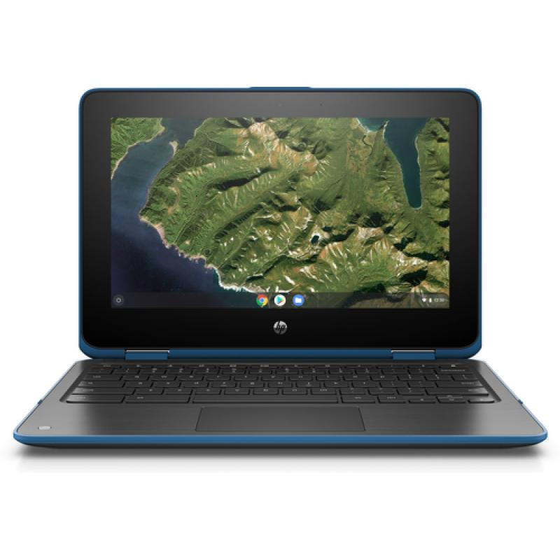 "HP Chromebook x360 11 G2 EE 29,5 cm (11.6"") 1366 x 768 Pixeles Pantalla táctil Intel® Celeron® N N4000 4 GB LPDDR4-SDRAM 32 GB e"