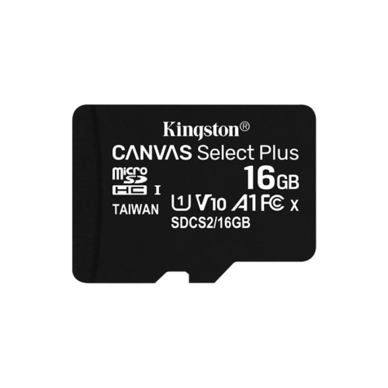 Kingston Technology Canvas Select Plus memoria flash 16 GB MicroSDHC Clase 10 UHS-I - Imagen 1