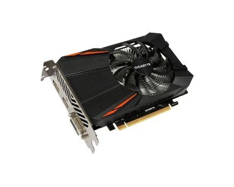 Tarjeta Gráfica Gigabyte Ultra Durable 2 GV-N105TD5-4GD - GeForce GTX 1050 Ti - 1,32 GHz Principal - 1,43 GHz Boost Clock - 4 GB