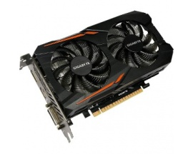 Tarjeta Gráfica Gigabyte Ultra Durable 2 GV-N105TOC-4GD - GeForce GTX 1050 Ti - 1,34 GHz Principal - 1,46 GHz Boost Clock - 4 GB