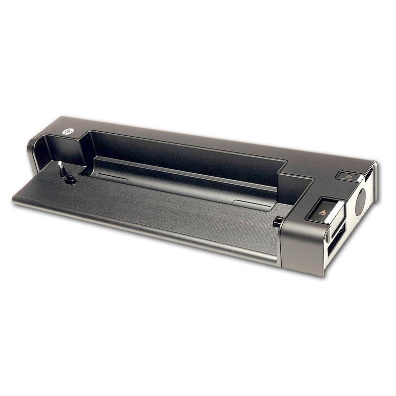 HP Docking Station 2560p Adaptador de corriente no incluido - Compatible con HP Mini 1103, EliteBook 2740p Tablet PC, 2560p, 254