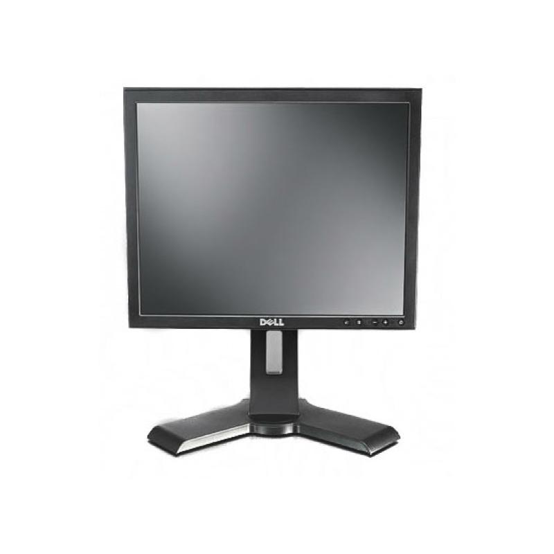 Dell 1704fp LCD 17 '' 5:4 · Resolución 1280x1024 · Dot pitch 0.294 mm · Respuesta 25 ms · Contraste 1000:1 · Brillo 280 cd/m2 ·