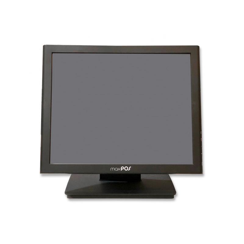 Clonico max POS MAX-1728R Táctil 17 '' 4:3 · Resolución 1280x1024 · Contraste 800:1 · Brillo 300 cd/m2 · Ángulo visión 170°v/17