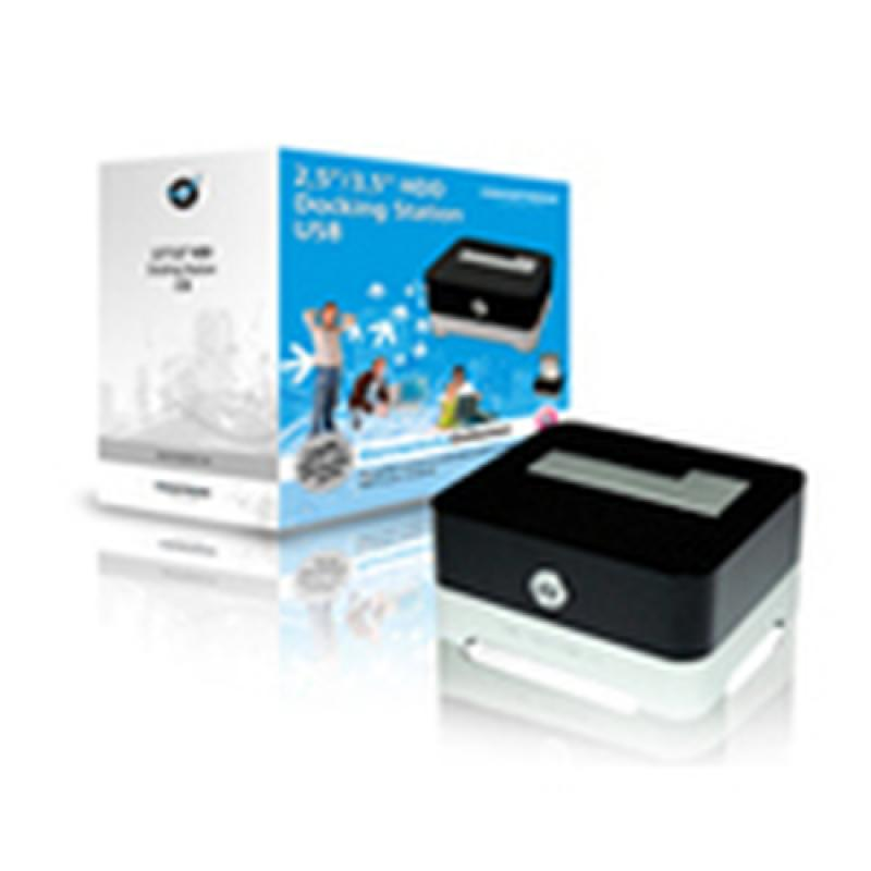 Conceptronic 2,5/3,5 inch Hard Disk Docking Station USB 2.0 - Imagen 1