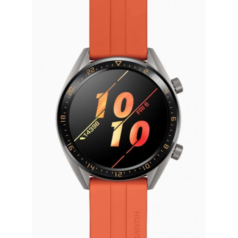 "Watch GT Active reloj inteligente Gris AMOLED 3,53 cm (1.39"") GPS (satélite) - Imagen 1"