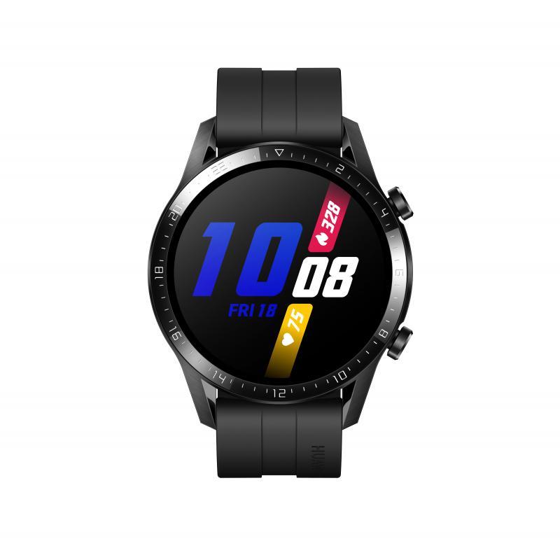 "WATCH GT 2 reloj inteligente Negro AMOLED 3,53 cm (1.39"") GPS (satélite) - Imagen 1"