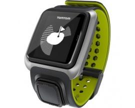 Tomtom Golfer Reloj GPS - Muñeca Portátil - Gris Oscuro, Verde brillante - Calorías quemadas - 144 x 168 - GPS - 10 Hora(s) - Go
