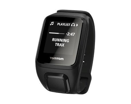 Tomtom Spark Reloj GPS - Muñeca Portátil - Negro - Sensor óptico de pulso cardíaco, Podómetro - Reproductor de música, Alarma, S