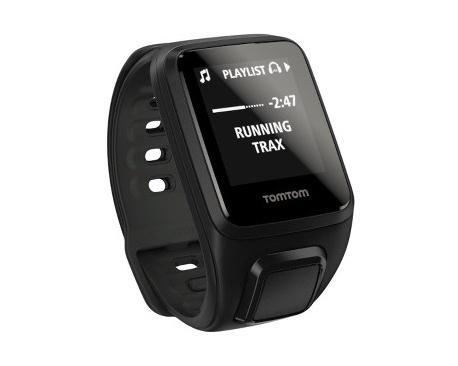 TomTom Spark Reloj GPS - Muñeca Portátil - Negro - Acelerómetro, Sensor de movimiento, Sensor Gyro, Sensor óptico de pulso cardí