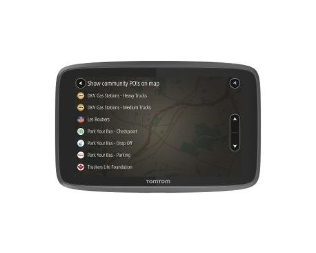 "Navegador GPS portátil para coche Tomtom GO 520 - Montable, Pórtatil - 12,7 cm (5"") - Pantalla Táctil - Detector de Radar, M"
