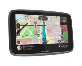 "Navegador GPS portátil para coche Tomtom GO 6200 - Montable, Pórtatil - 15,2 cm (6"") - Pantalla Táctil - Micrófono, Detector"