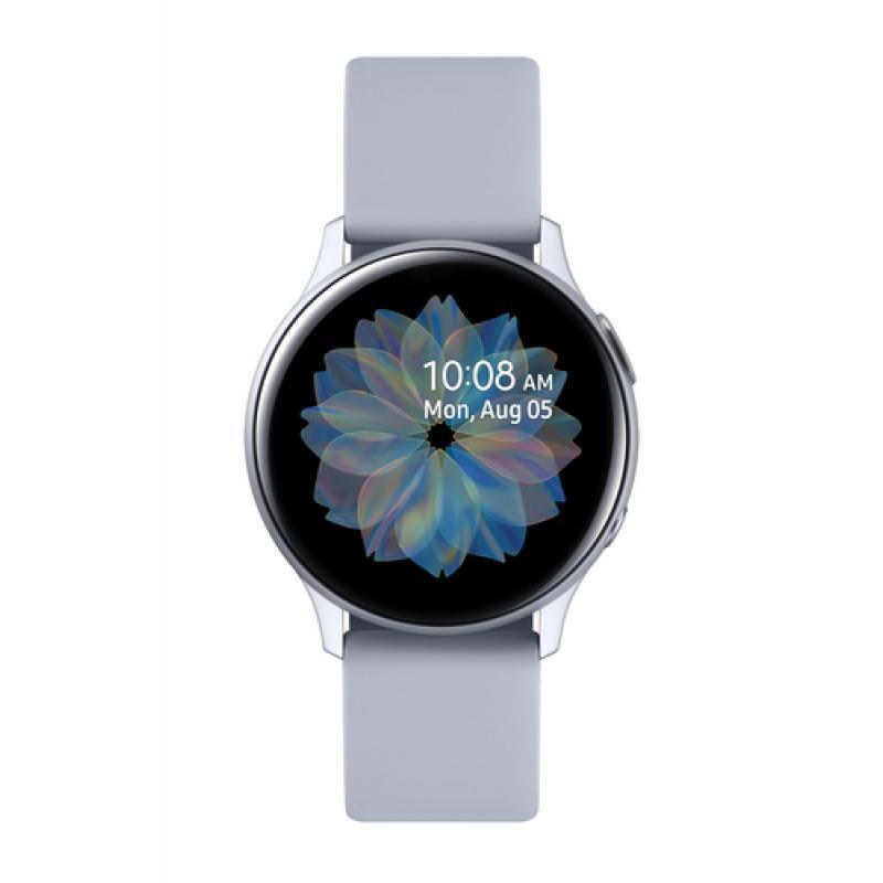 "Samsung Galaxy Watch Active2 reloj inteligente Plata SAMOLED 3,05 cm (1.2"") GPS (satélite) - Imagen 1"
