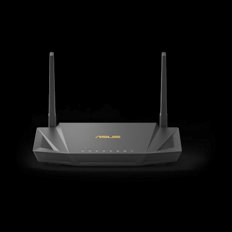 ASUS RT-AX56U router inalámbrico Doble banda (2,4 GHz / 5 GHz) Gigabit Ethernet Negro - Imagen 1