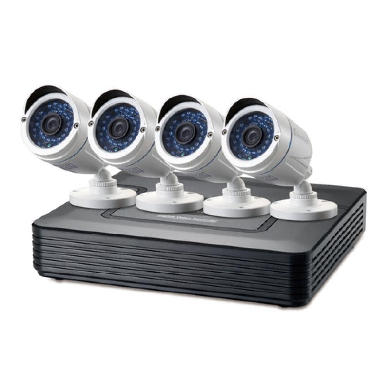 LevelOne DSK-4001 kit de videovigilancia Alámbrico 4 canales - Imagen 1