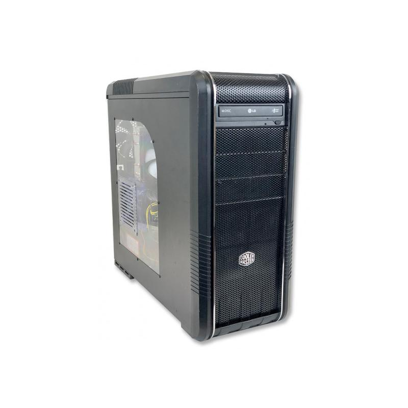 DATOM COOLER MASTER I Intel Core i7 4820K 3.7 GHz. · 48 Gb. DDR3 RAM · 240 Gb. SSD · 2x 1.00 Tb. SATA · nVidia GeForce 970 4 Gb.