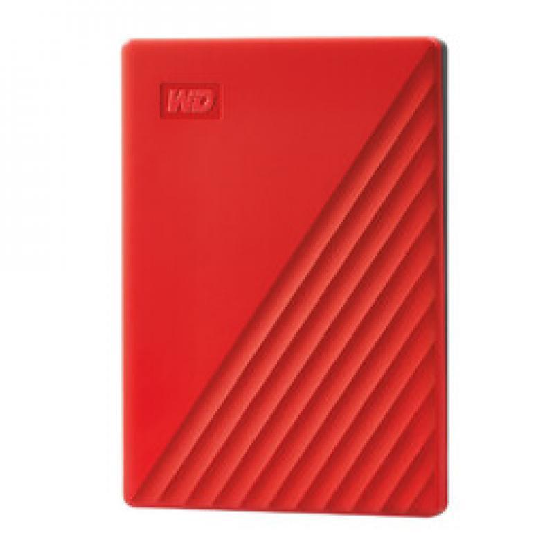 My Passport disco duro externo 4000 GB Rojo - Imagen 1