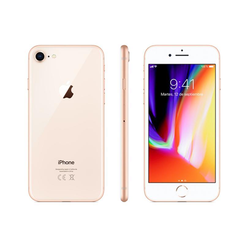iPhone 8 64GB Oro Semi Nuevo - Imagen 1
