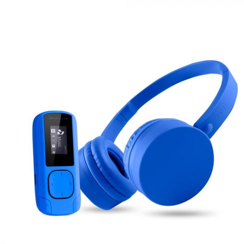 Music Pack Reproductor de MP3 Azul 8 GB - Imagen 1