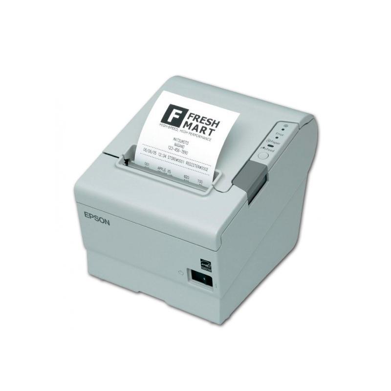 Epson TM-T88IV Térmica · Ancho de papel 83mm · Corte automático · Velocidad de impresión 200 mm/s · Caracteres por pulgada 20 ·