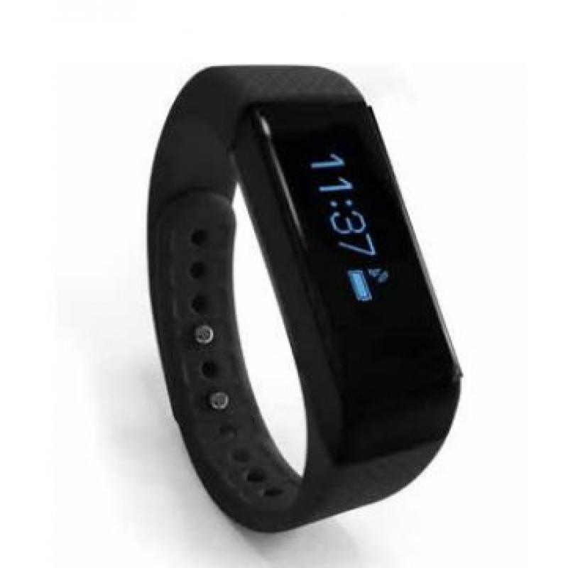 "ERNEST THE FIT TRACKER Wristband activity tracker 0.91"" OLED Alámbrico/Inalámbrico Negro - Imagen 1"