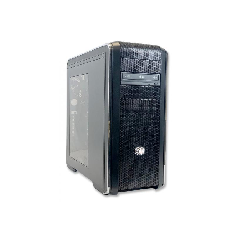DATOM COOLER MASTER XIIntel Core i7 5820K 3.3 GHz. · 16 Gb. DDR4 RAM · 240 Gb. SSD · nVidia GeForce GTX970 4 Gb. - DVD-RW ·