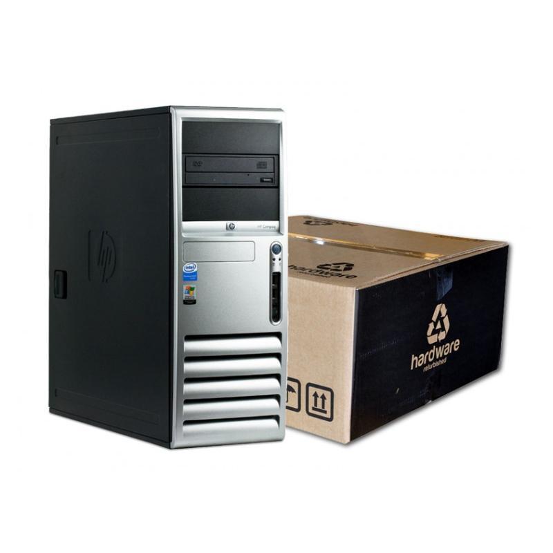 HP DC7600 Torre Intel Pentium 4 3 GHz. · 2 Gb. DDR2 RAM · 80 Gb. SATA · DVD-RW · Ubuntu GNU/Linux - Imagen 1