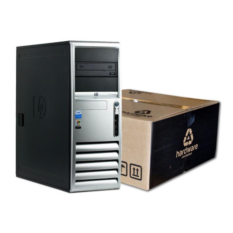HP DC7700 Torre Intel Pentium D 3 GHz. · 4 Gb. DDR2 RAM · 160 Gb. SATA · DVD-RW · Ubuntu GNU/Linux - Imagen 1